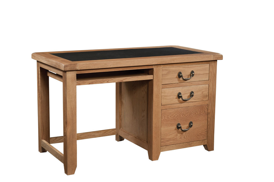 Wiltshire Rustic Oak Office Desk